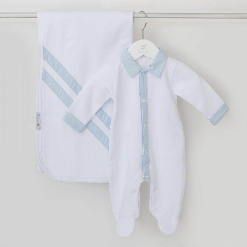 Saída Maternidade Felicidade Branca - Tricotil