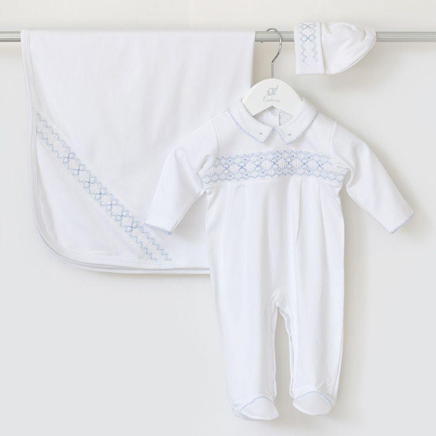 Saída Maternidade Nuvem - Algodão Pima