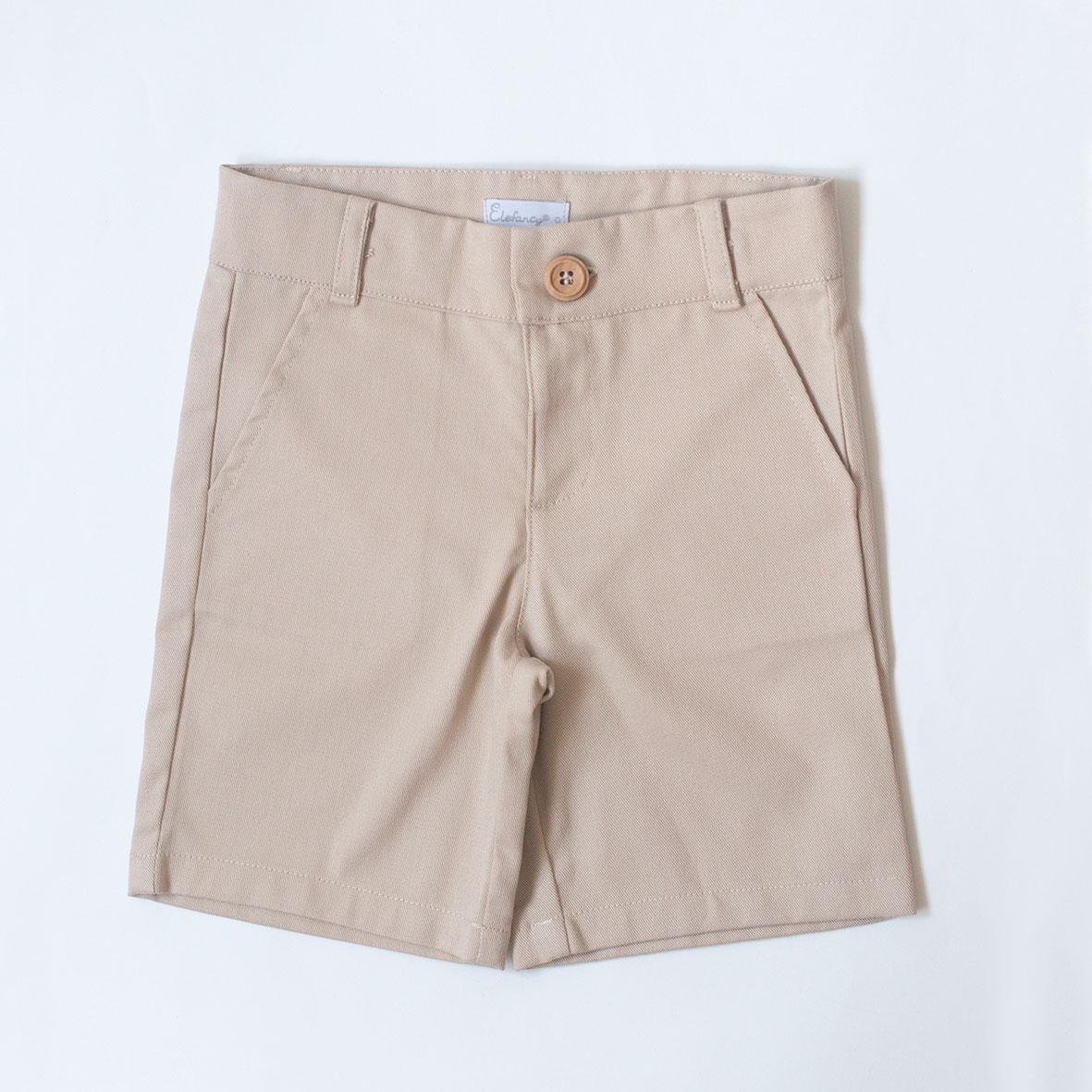 Shorts Sarja Bege