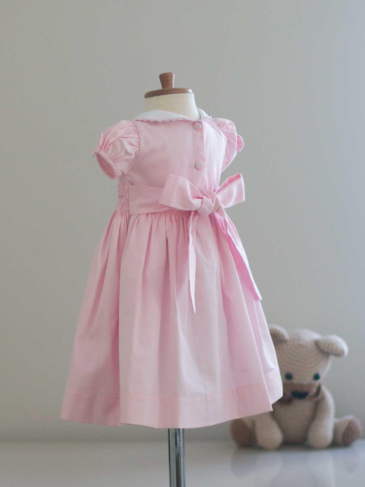 Vestido Casinha Rosa