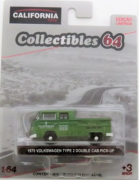 1975 Volkswagen Type 2 Double Cab Pick-up 1/64