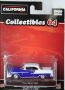 CHEVY BEL AIR 1955 / COLLECTIBLES 64 - GREENLIGHT E CALIFORNIA TOYS