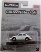 Classic Volkswagen Beetle - California Collectibles 64 - Serie 4 - 1/64 - Greenlight