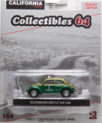 Volkswagen Beetle Taxi Cab Mexico - Green Machine - California Collectibles 64 - Serie 5 - 1/64 - Greenlight