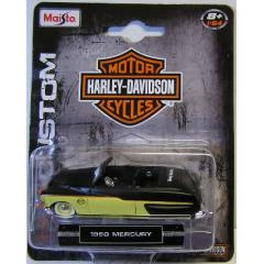 1950 Mercury Convertible Harley Davidson Hd Maisto 1/64