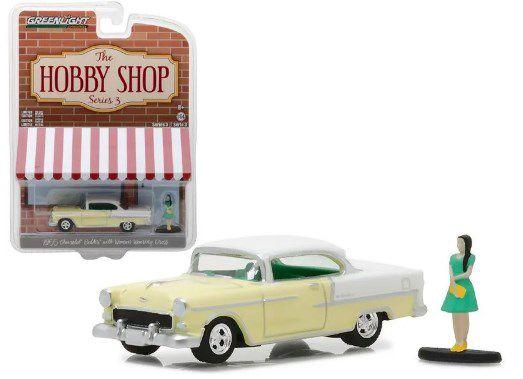 Chevrolet Bel Air 1955 Figura The Hobby Shop Greenlight 1:64