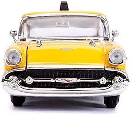 1957 Chevy Bel Air Taxi, Deadpool - Jada - 1/24