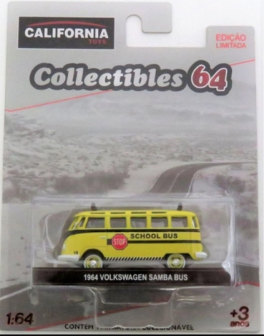1964 Volkswagen Samba Bus - California Collectibles 64 - Serie 5 - 1/64 - Greenlight