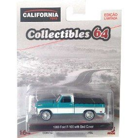 1969 Ford F100 With Bed Cover - 381387 R13