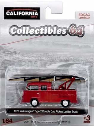 1976 Volkswagen Type 2 Double Cab Pickup Ladder - Greenlight
