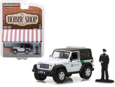 2016 Jeep Wrangler-nos com alfândega Oficial Hobby Shop Série 2 - 1:64 Greenlight