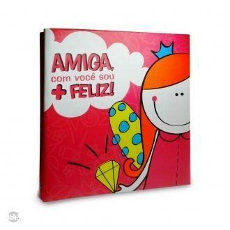 Álbum Cola e Descola Amiga - 160 Fotos- 325618
