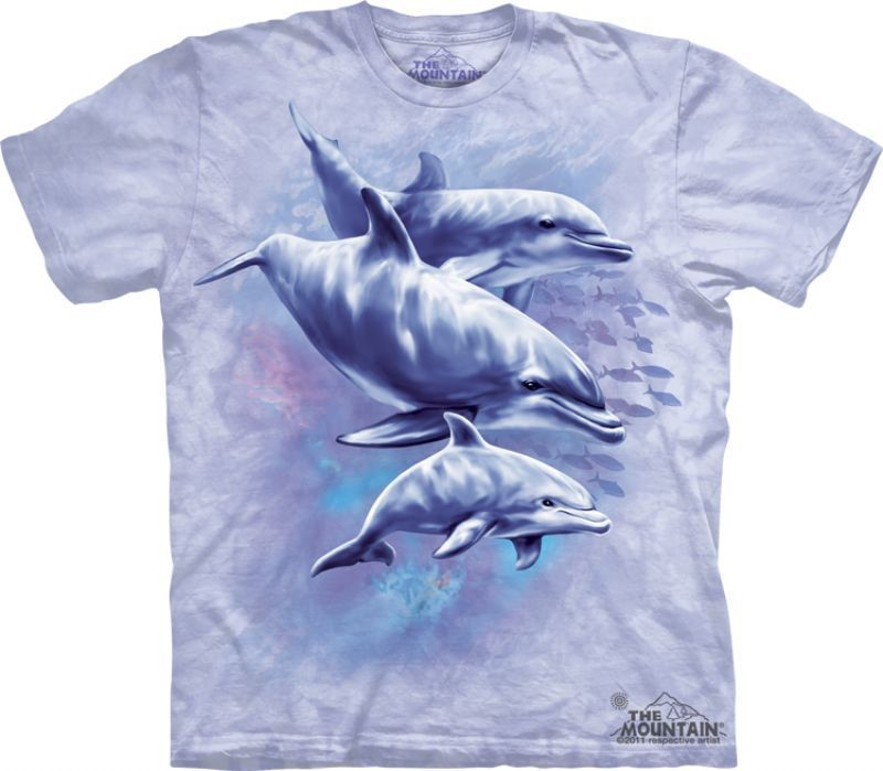 Camiseta The Mountain Golfinhos - E1 nfantil  302685