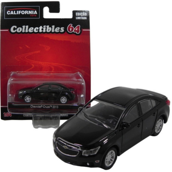 Chevrolet Cruze 2013 Preto 1/64 California Collectibles