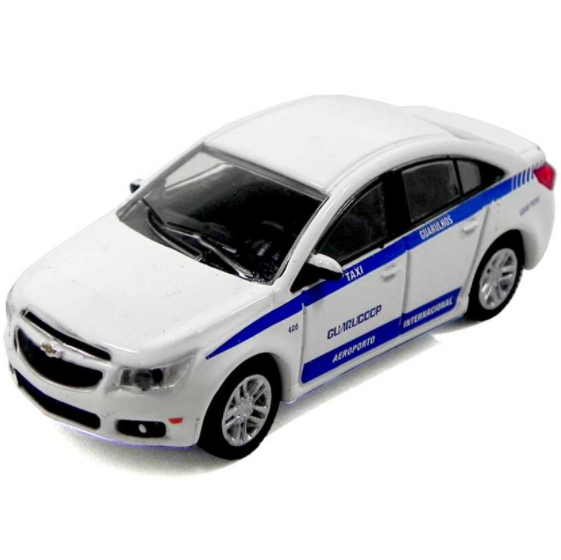 Chevrolet Cruze Aeroporto de Guarulhos Guarucoop California Toys series 2 escala 1/64