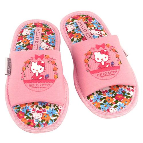 Chinelo Hello Kitty Flor