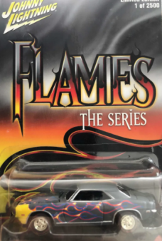 Johnny Lightning Flames Series 1969 Chevy Camaro