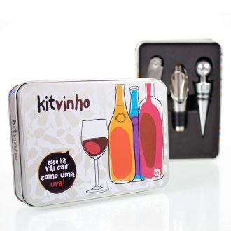 Kit Vinho Lata Com Uma Uva - 227495