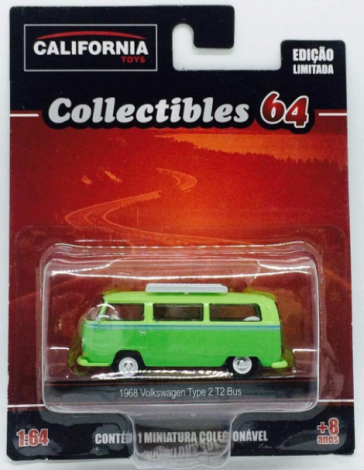Kombi 1968 Volkswagen Type 2 T2 Bus - California Toys