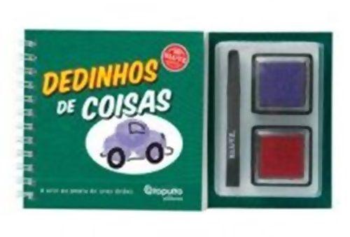 Livro Dedinhos de Coisas - 132695