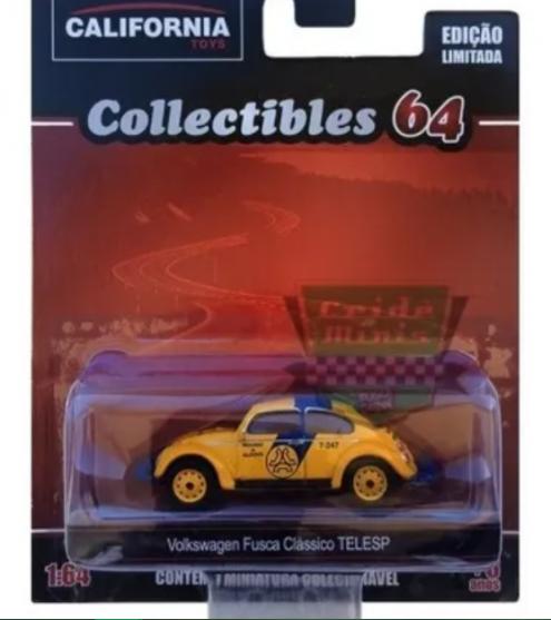Miniatuatura Volkswagen Fusca Classico Telesp