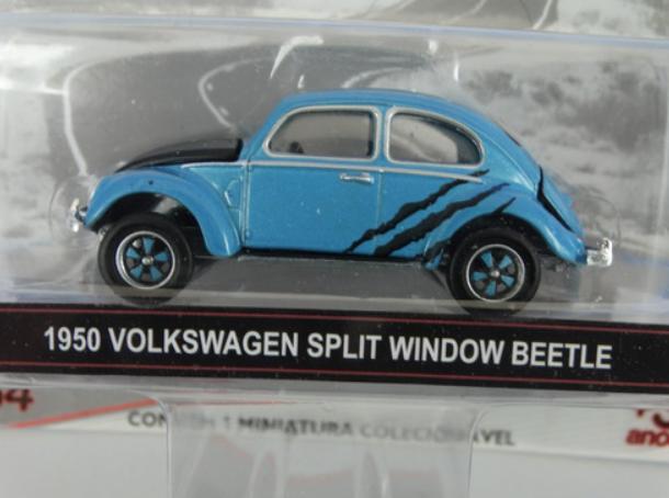 Miniatura - 1:64 - 1950 Volkswagen Split Window Fusca Beetle