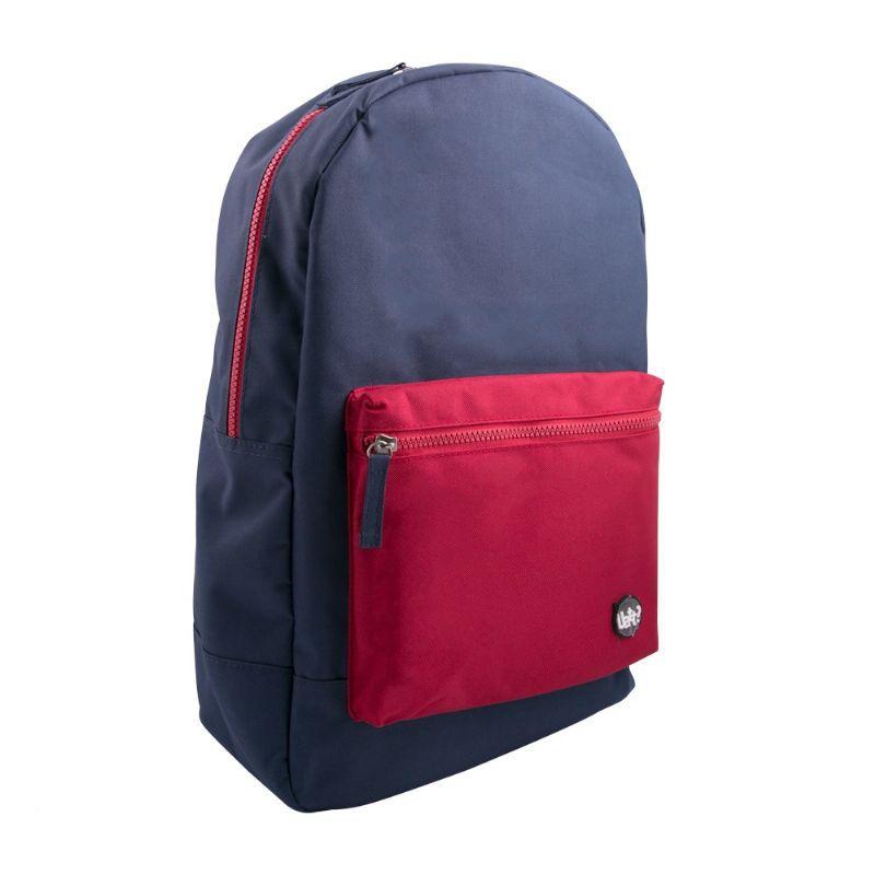 Mochila Block - Azul e Vermelha - 365798