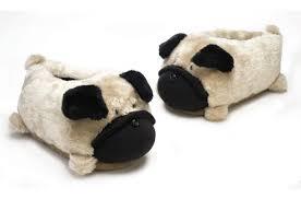 Pantufa Cachorro Pug   - A20 -  3929