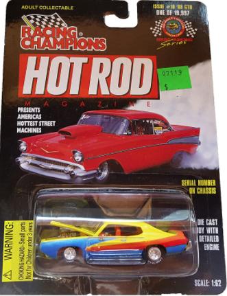 Racing Champions Hot Rod Magazine - #10 '69 Gto Judge