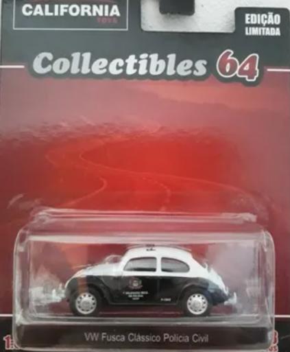 VW Fusca Clássico Policia Civil