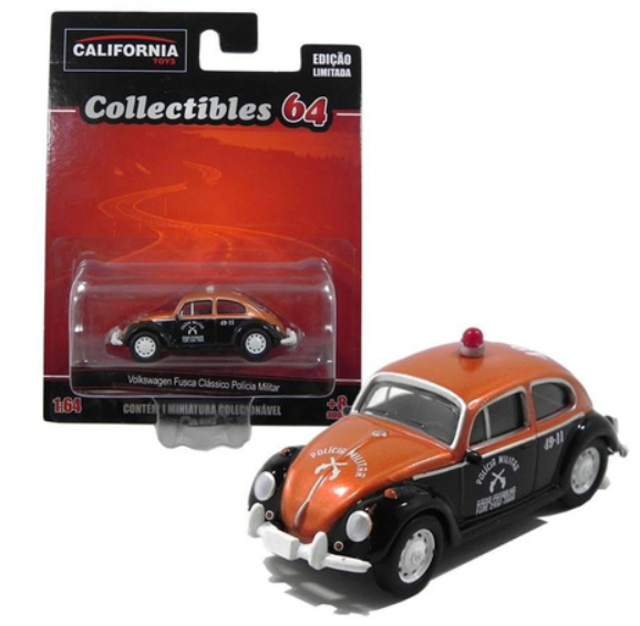 Vw Fusca Polícia Militar Sp Collectibles 64 Greenlight 1/64