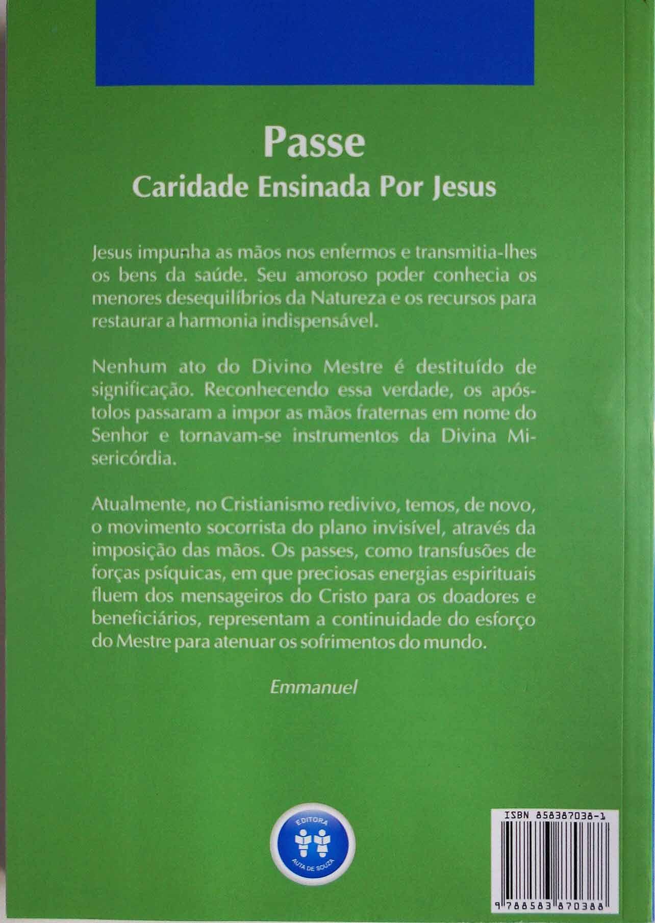 PASSE - CARIDADE ENSINADA POR JESUS