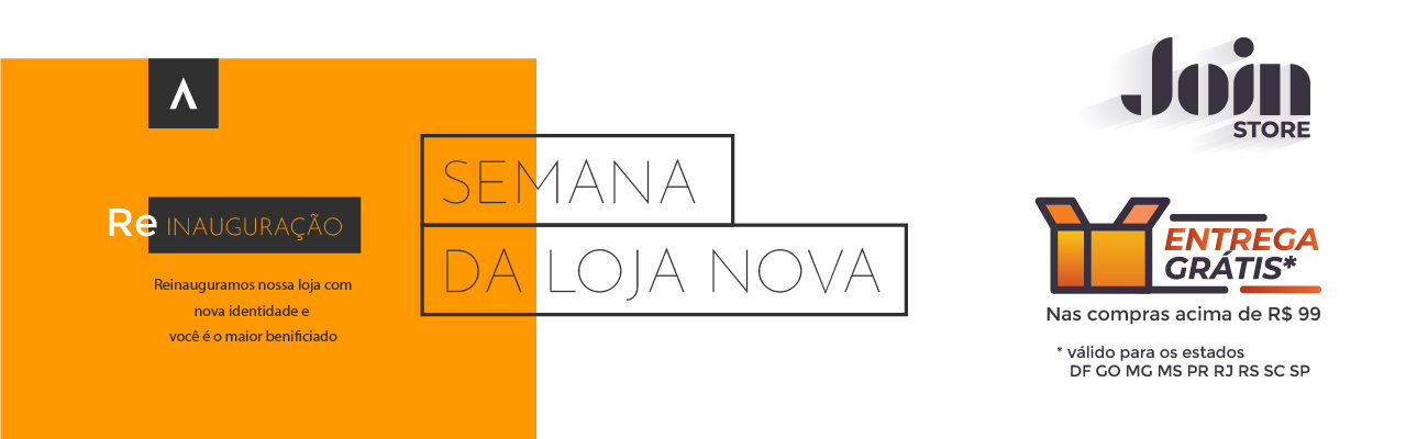 join store - semana loja nova