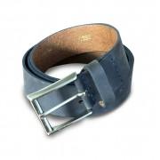 Cinto de Couro Azul | GG| 1,38m x 4cm