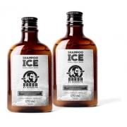Kit 2 Shampoo Ice Barba E Cabelo Barba De Respeito