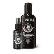 Kit Barba Bem Cuidada Confra - Shampoo Barba + Óleo Barba