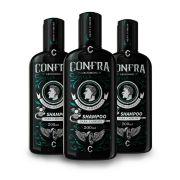Shampoo Para Cabelo Confra Grooming (3 unidades)