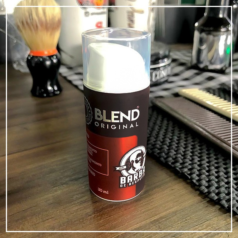 Barba De Respeito Blend Original 30ml Cresce Barba