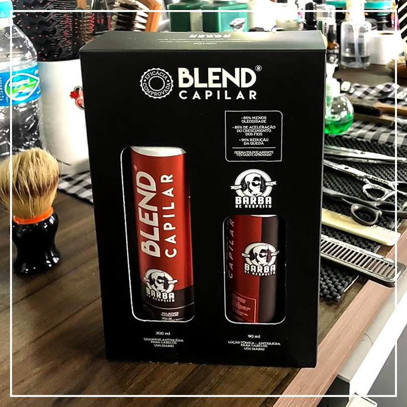 Blend Capilar Kit Trat amento Antiq ueda