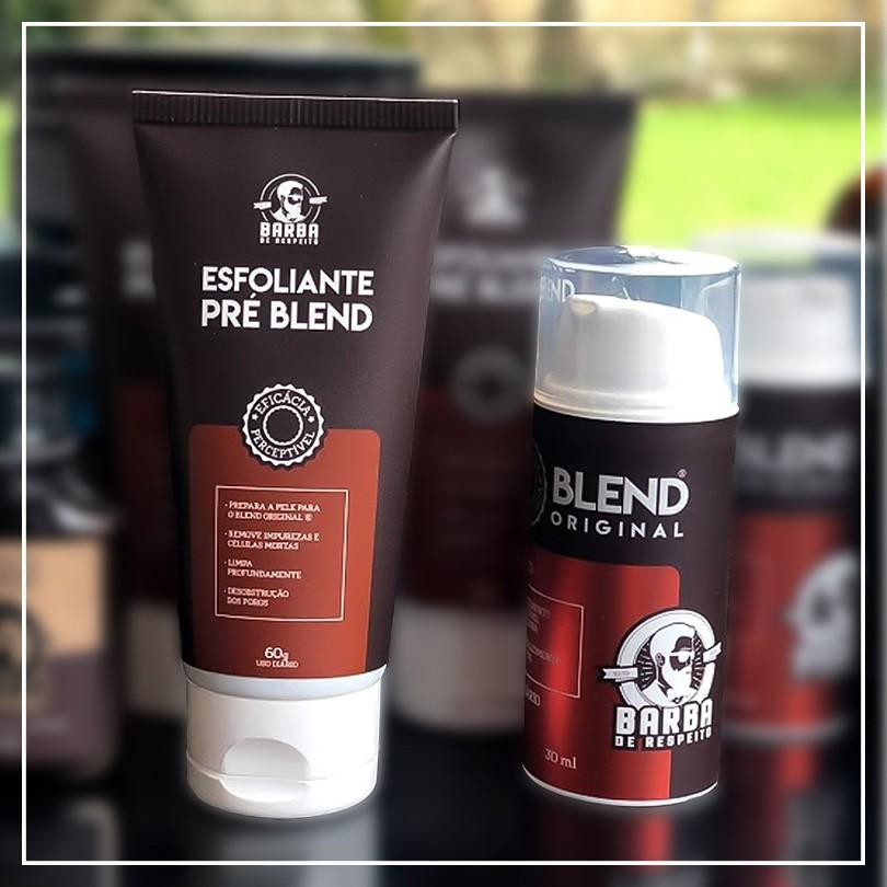 Kit Barbudo Aspirante - Esfoliante e Blend Original - Barba de Respeito