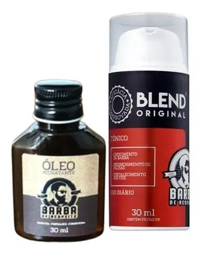Kit Blend Original 30ml + Oleo - Barba De Respeito