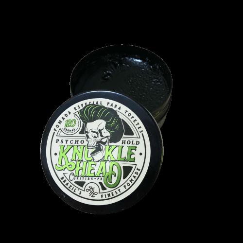 Pomada Knucklehead Psycho Hold Efeito Molhado | Fixa Forte 120g