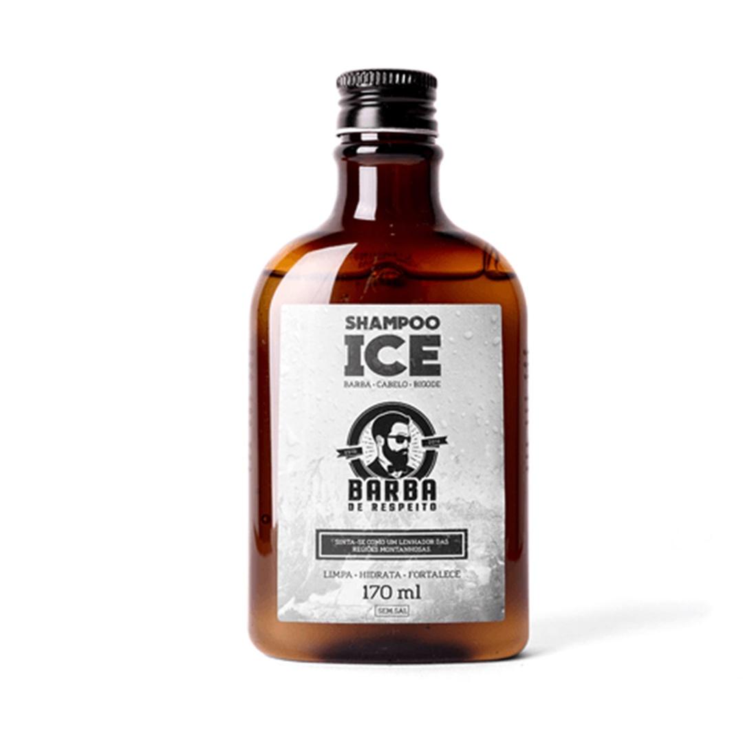 Shampoo Para Barba Ice - Barba De Respeito - 170 Ml