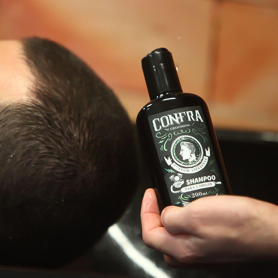 Shampoo Para Cabelo Confra Grooming (2 unidades)
