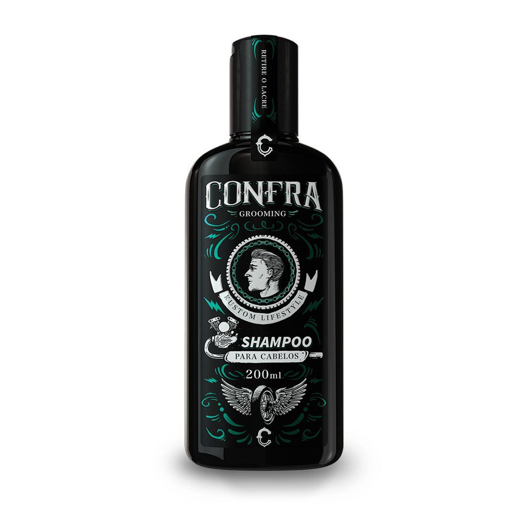 Shampoo Para Cabelo Confra Grooming