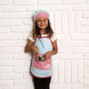 Kit Chef Lina: Avental + Touca