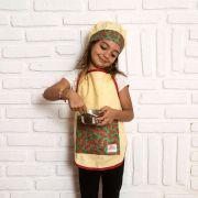 Kit Chef Sofia: Avental + Touca