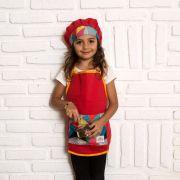Kit Chef Theo: Avental + Touca   Ateliê Materno