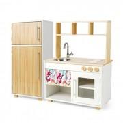 Kit Cozinha Compacta e Geladeira - Lola | Ateliê Materno