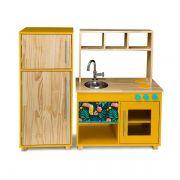 Kit Cozinha Compacta e Geladeira - Cora